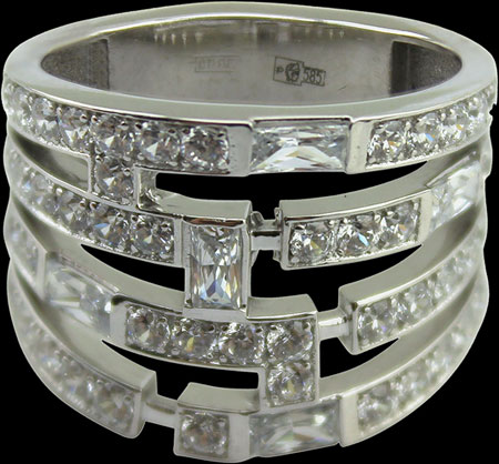 Кольца Leo Totti 1-00134-35319