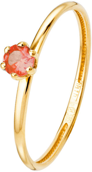 Кольца Liza Geld 1-00068-G-COR-R ювелирные кольца liza geld кольцо