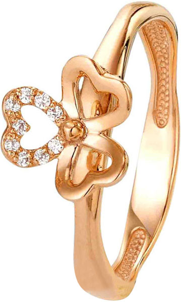 Кольца Liza Geld 1-00077-R-RH ювелирные кольца liza geld кольцо