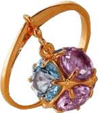 Кольца Liza Geld 1180991