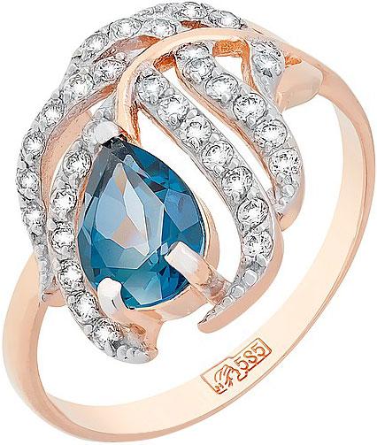 Кольца Магия Золота 117477_mg магия золота магия золота кольцо с аметистом и фианитом 122868