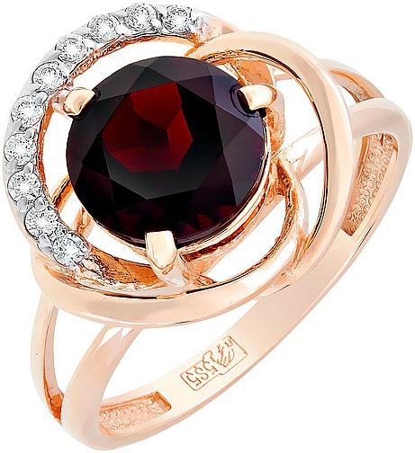 Кольца Магия Золота 117678_mg магия золота женское золотое кольцо с аметистами и куб циркониями mg81293am z 17 5