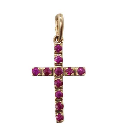 Крестики и иконки Магия Золота PL-192K-542-0-13-00 магия золота золотой кулон с куб циркониями mg129259z