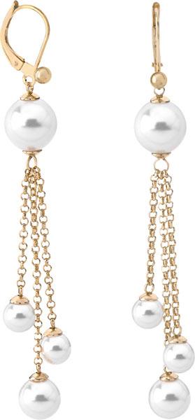 Серьги Majorica 14736.01.1.000.010.1 carweaiya shamballa стразы серьги стерлингового серебра покрытые серьги принцесса шарик серьги темперамент женский 10мм