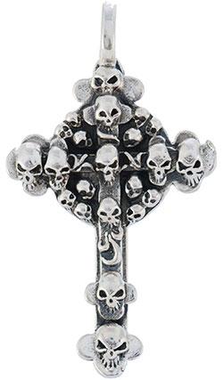 Кулоны, подвески, медальоны Марказит A0109-skull-mr кулоны подвески медальоны mr jones 250102