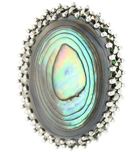 Броши Марказит HB349-perlamutr-abalon-mr броши марказит hb493 perlamutr mr
