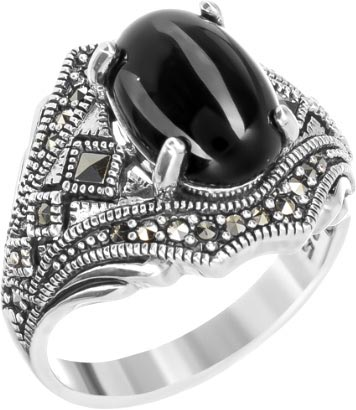 Кольца Марказит HR1298-oniks-mr браслеты марказит br337 oniks mr
