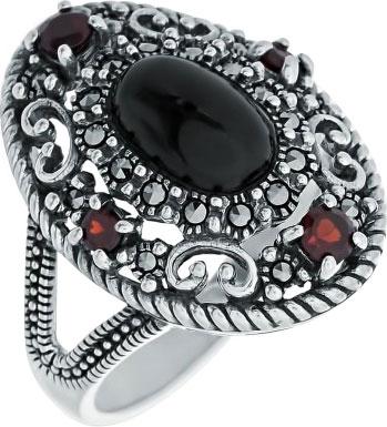 Кольца Марказит HR1498-oniks-mr