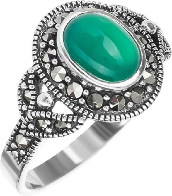 Кольца Марказит HR339-hrizopraz-mr