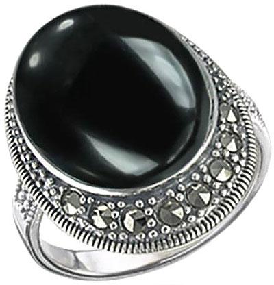 Кольца Марказит HR560-oniks-mr
