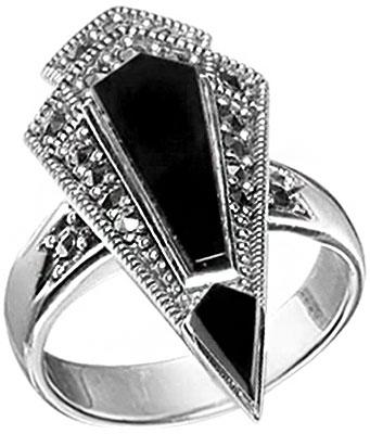 Кольца Марказит HR599-oniks-mr