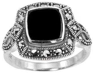 Кольца Марказит HR978-oniks-mr