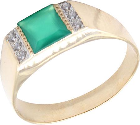 Кольца Маршал KM-131-z-zelenyj-agat