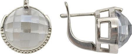 Серьги Митра Ювелир E-1040-BMQ серьги серебро с мистик топазом вавилон ссмтп 1355