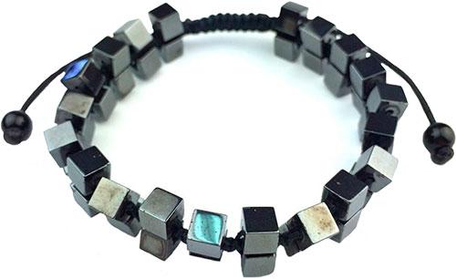 Браслеты Mr.Jones BNS131 u7 boho бисера браслеты для женщин ювелирные изделия 2016 черный камень необычные австрийский хрусталь женщины регулируемая браслет узла