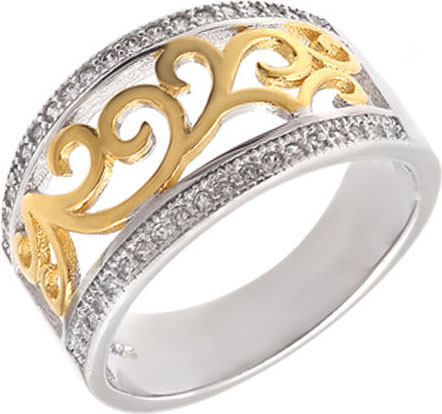 Кольца Национальное Достояние 12K121105-nd  кольца национальное достояние k 806 nd