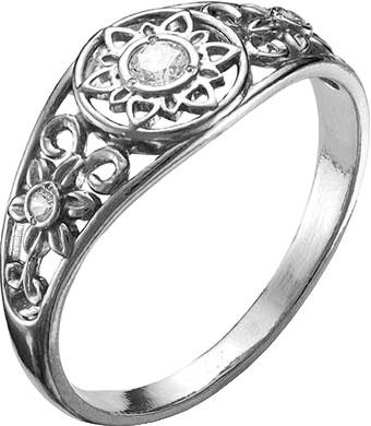 Кольца Национальное Достояние 2388858-nd кольцо с 81 фианитами из серебра 925 пробы