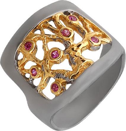 Кольца Национальное Достояние 820961-nd кольцо с 81 фианитами из серебра 925 пробы