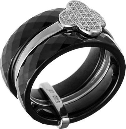 Кольца Национальное Достояние SR1371-001-WG-nd jv женское серебряное кольцо с куб циркониями sr01924czzsw 1 001 wg 17