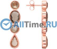 Серьги Nina Ricci NR-70207810110000 серьги с подвесками jv серебряные серьги с ювелирным стеклом eb3200 us 001 wg