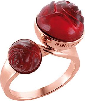 Кольца Nina Ricci NR-702235740010 nina ricci кольцо nina ricci 70121670107052 s 57 золотой