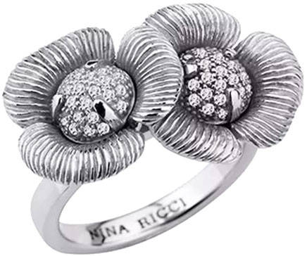 Кольца Nina Ricci NR-702406211080 браслеты nina ricci nr 70152921108190