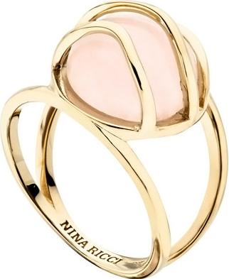 Кольца Nina Ricci NR-702449101070 кольцо с розовым кварцем триумф кнкр 842