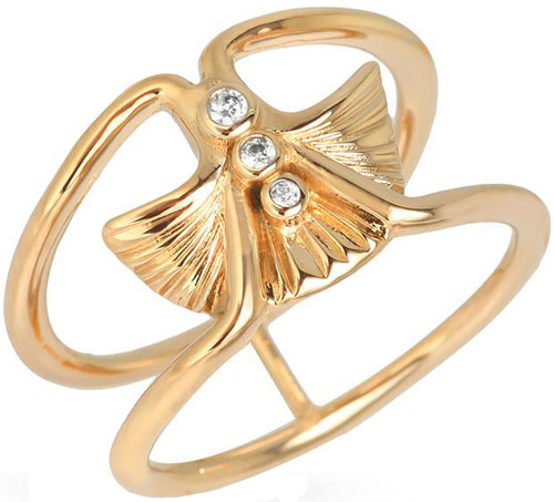 Кольца Nina Ricci NR-702484001080 nina ricci кольцо nina ricci 70121670107052 s 57 золотой