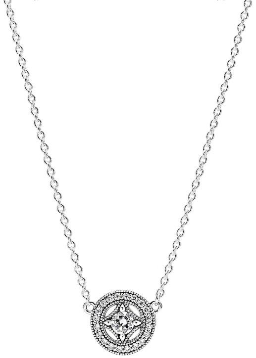 Серебряные колье Колье PANDORA 590523CZ фото
