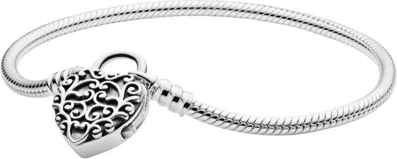Браслеты PANDORA 597602 жен прочее сердце браслеты цепочки и звенья уникальный дизайн любовь мода серебряный браслеты назначение новогодние подарки