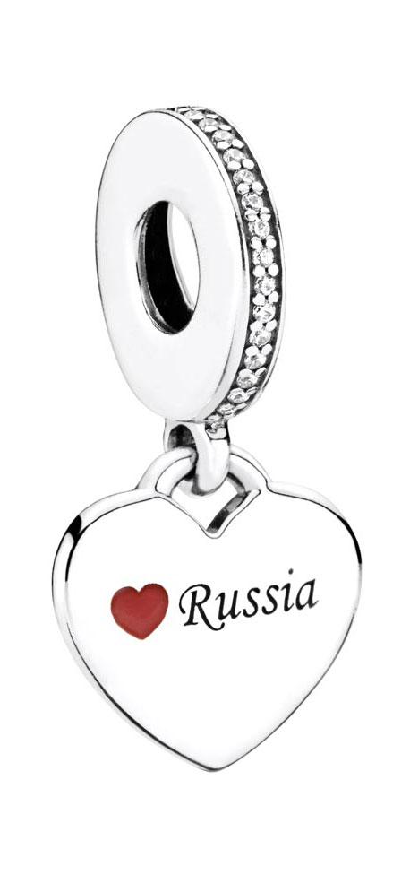 Кулоны, подвески, медальоны PANDORA 792017CZ-E005