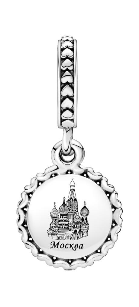Кулоны, подвески, медальоны PANDORA 792018-E020 кулоны подвески медальоны pandora 397965nag