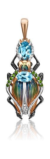 Кулоны, подвески, медальоны PLATINA Jewelry 03-2982-00-713-1110-57