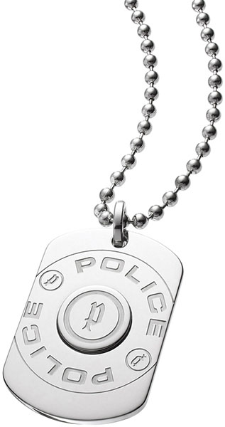 Кулоны, подвески, медальоны Police PJ.23375PSS/01 браслеты police pj 25897blb 01 l