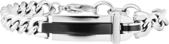 Браслеты Police PJ.25559BSB/01 u7 2016 новая мода силиконовая и нержавеющая сталь браслет мужчины изделий 18k позолоченный браслеты