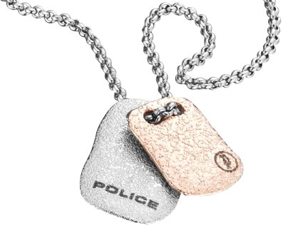 Кулоны, подвески, медальоны Police PJ.25560PSS/01 браслеты police pj 25897blb 01 l