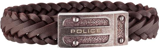 Браслеты Police PJ.26057BLEBR/03-L кулоны подвески медальоны police pj 23375pss 01
