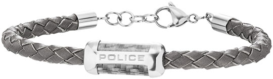 Браслеты Police PJ.26074BLGR/01 муж strand браслеты кожаные браслеты кожа браслеты черный коричневый назначение повседневные