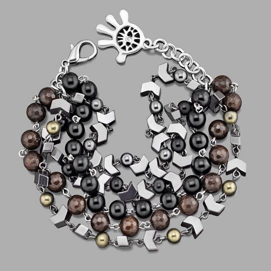 Браслеты Rico La Cara 3211-rlc u7 роскошные хрустальные бусины браслеты для женщин ювелирные изделия 2016 новые модный черный красный камень хамса рука сглаза браслет page 6