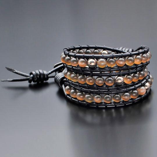 Браслеты Rico La Cara 4136-rlc дизайн панков турецкий браслеты для глаз для мужчин женщины новая мода браслет женский сова кожаный браслет камень