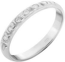 Кольца Русское Золото 05010890-6 кольцо с 81 фианитами из серебра 925 пробы