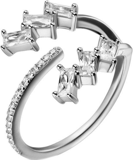 Кольца Sandara KKR066 кольцо с 81 фианитами из серебра 925 пробы