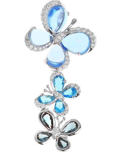 Кулоны, подвески, медальоны Sandara PJP082 женские кулоны jv серебряный кулон с куб циркониями ps0024 gzi 001 wg