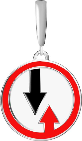 Кулоны, подвески, медальоны СБ Золото PK-26/03437 плакаты и макеты по правилам дорожного движения где купить в спб