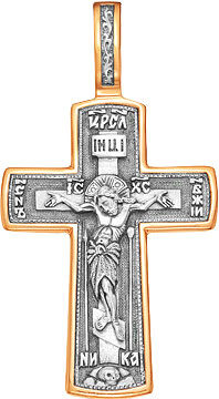 Крестики и иконки Серебро России 01024PZ-49899