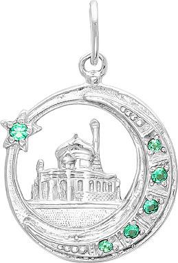 Кулоны, подвески, медальоны Серебро России 13-022-42590