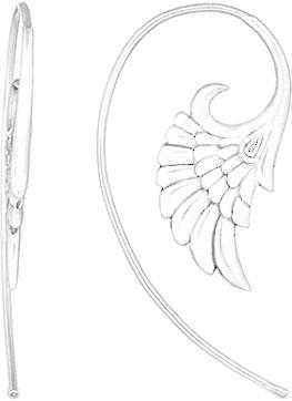 Серьги Серебро России 16784RH-72707