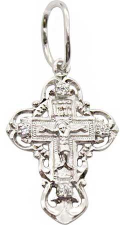 Крестики и иконки Серебро России 23-012R-23451 крестики и иконки серебро россии 23 093r 31250