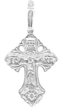 Крестики и иконки Серебро России 3-014R-36703 крестики и иконки серебро россии 23 093r 31250