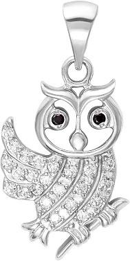 Кулоны, подвески, медальоны Серебро России 3-596R-33852